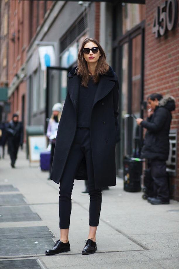 Темные очки. Базовый гардероб.