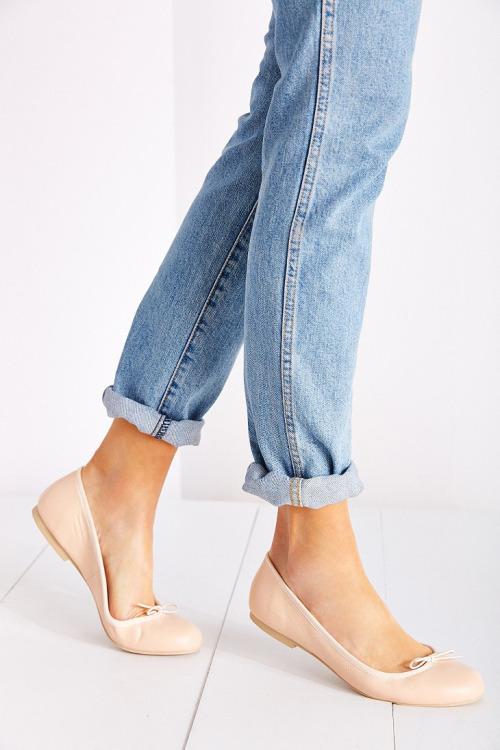 Балетки телесного цвета. Nude shoes. Parisian style.