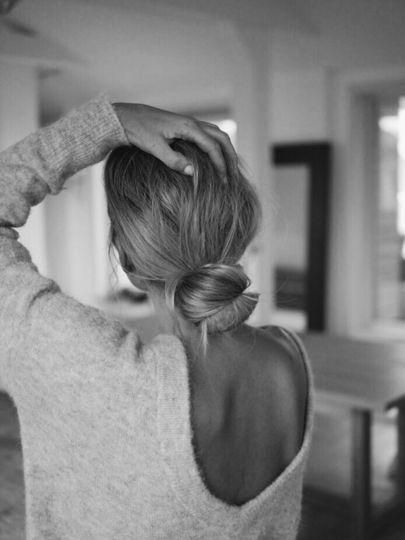 Свитер с открытой спиной. Базовый гардероб. Parisian chic.