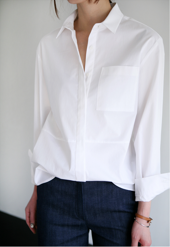 Стильные женские белые рубашки