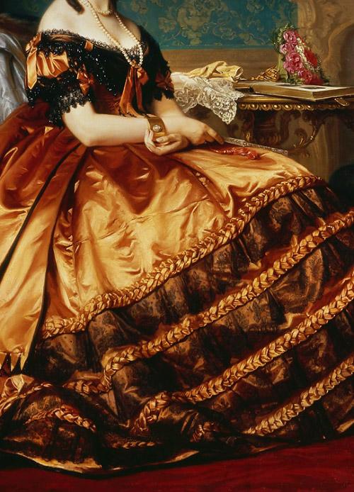 Portrait of Emilia Włodkowska by Józef Simmler, 1865