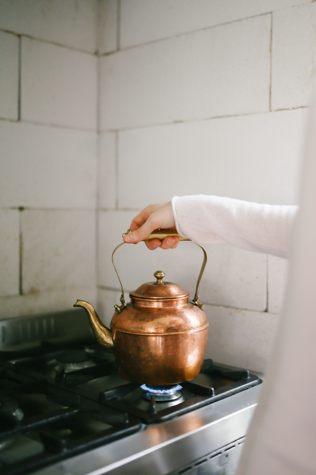 утренний детокс-чай