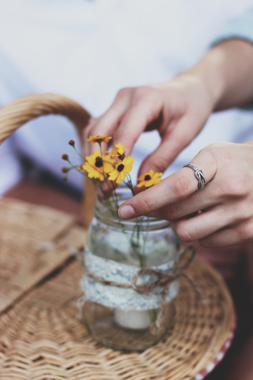 Декор цветами. Полевые цветы. Идеи для интерьера. woman-delice.com
