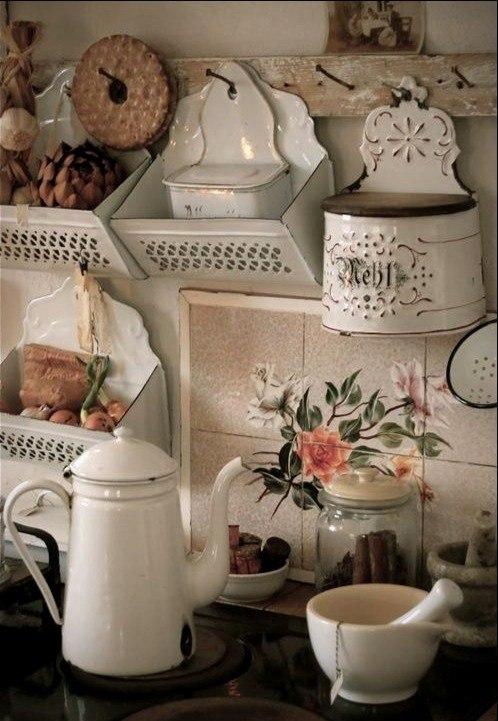 Декор интерьера в стиле shabby chic. woman-delice.com