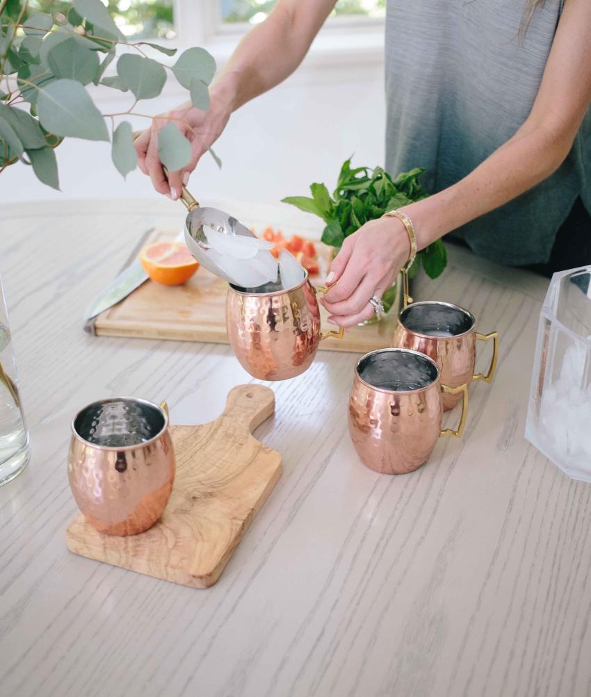 Весенний коктейль Moscow Mull