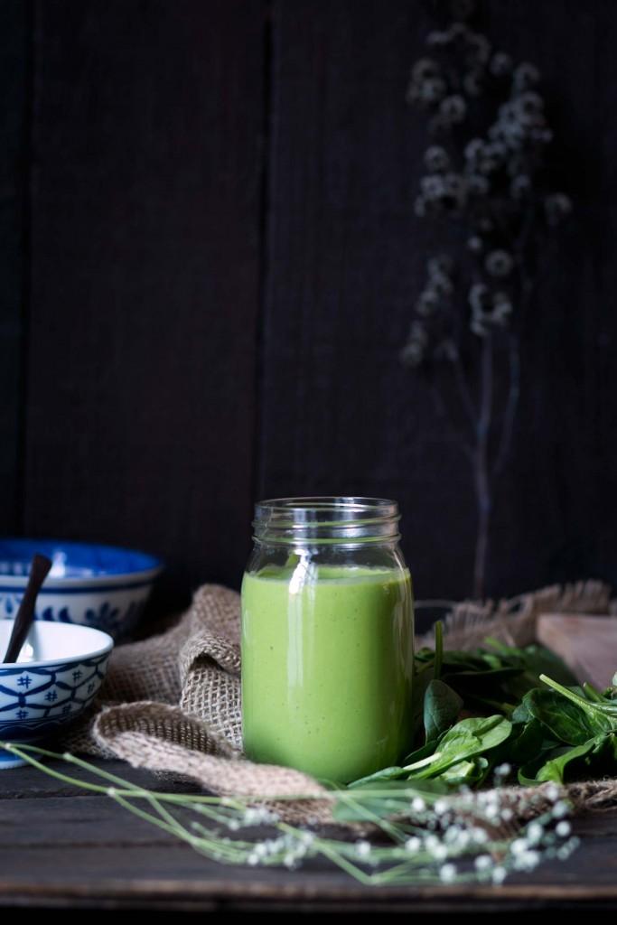 Зеленый смузи для сброса веса. woman-delice.com