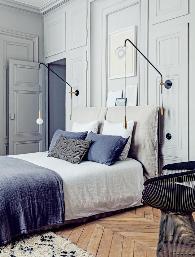 Старая квартира в Париже.