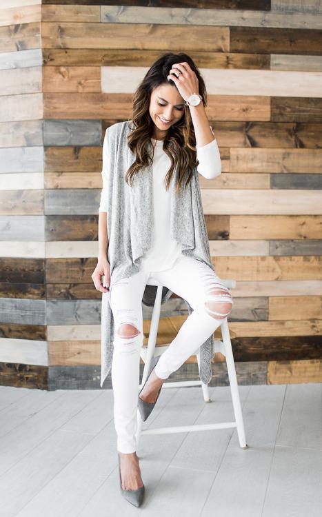 Белые джинсы. Как выглядеть дорого не тратя много.