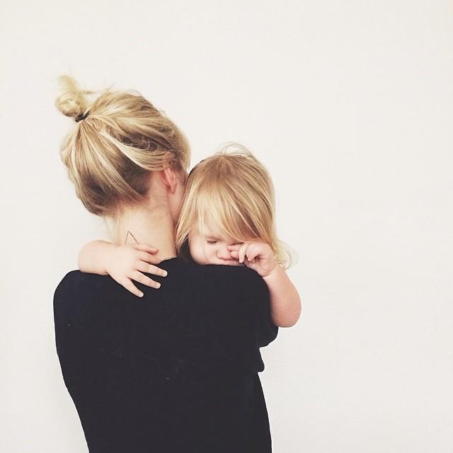 Мама с дочкой. Советы молодым родителям.
