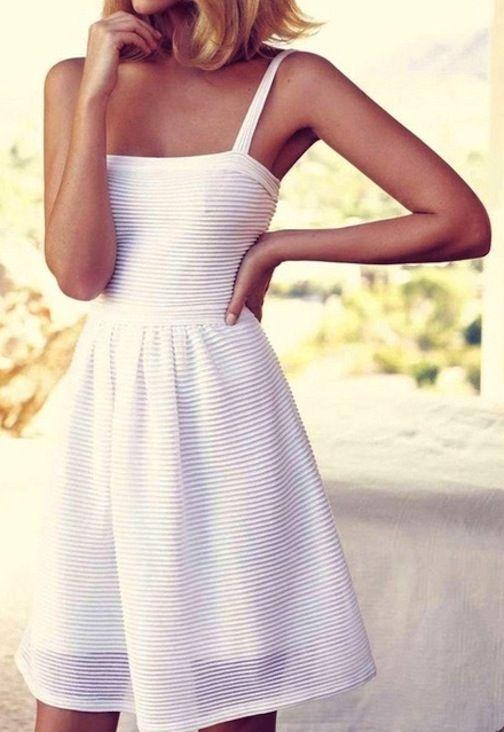 Белое платье. Как выглядеть дорого не тратя много.