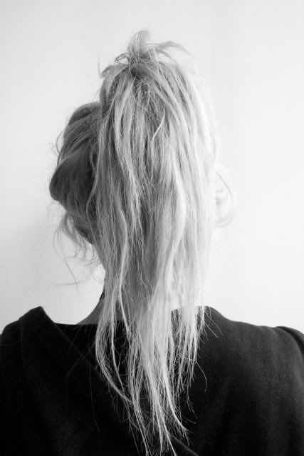 Messy hair: небрежные укладки
