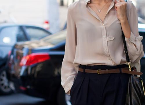 Шелковая блузка. Как выглядеть дорого не тратя много.
