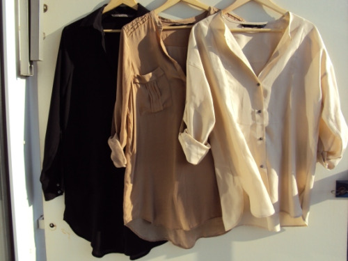 Шелковые блузки. Как выглядеть дорого не тратя много.