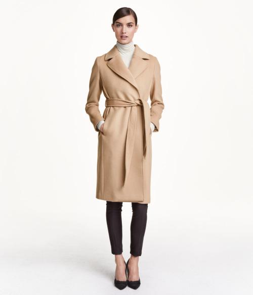 Пальто из верблюжьей шерсти. Выглядеть дорого не тратя много.