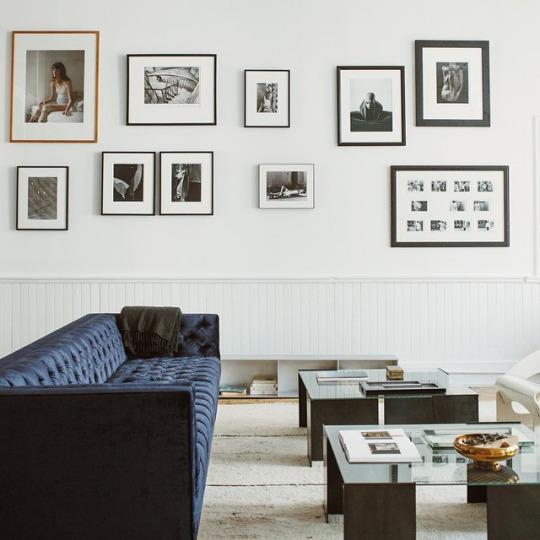 Дизайн стен. Галерея на стене своими руками.