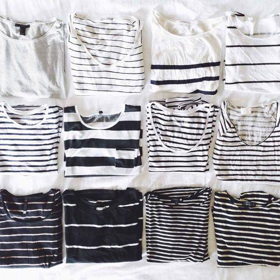 Топы в полоску. Breton shirts.