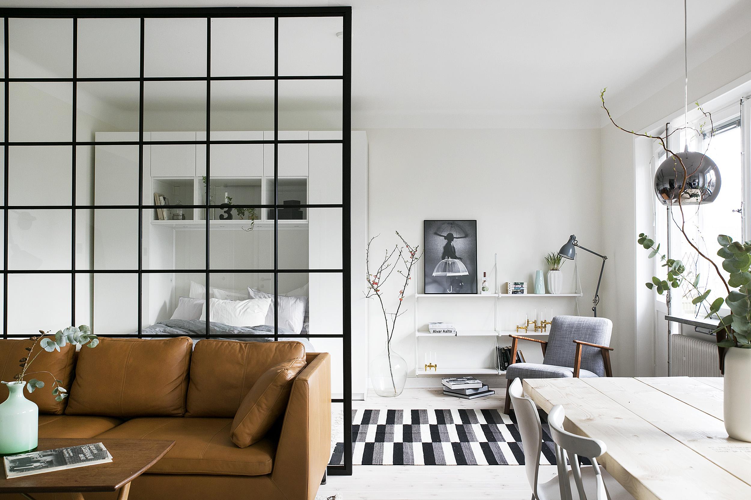 дизайн для маленькой квартиры_Стокгольм