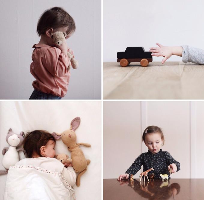 Ребенок с игрушкой. Как фотографировать детей.