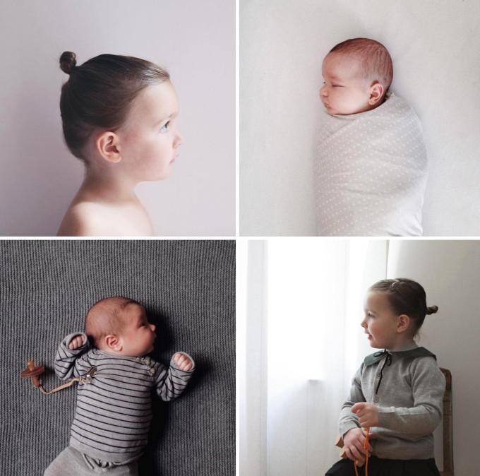 Брат и сестра. Как фотографировать детей.
