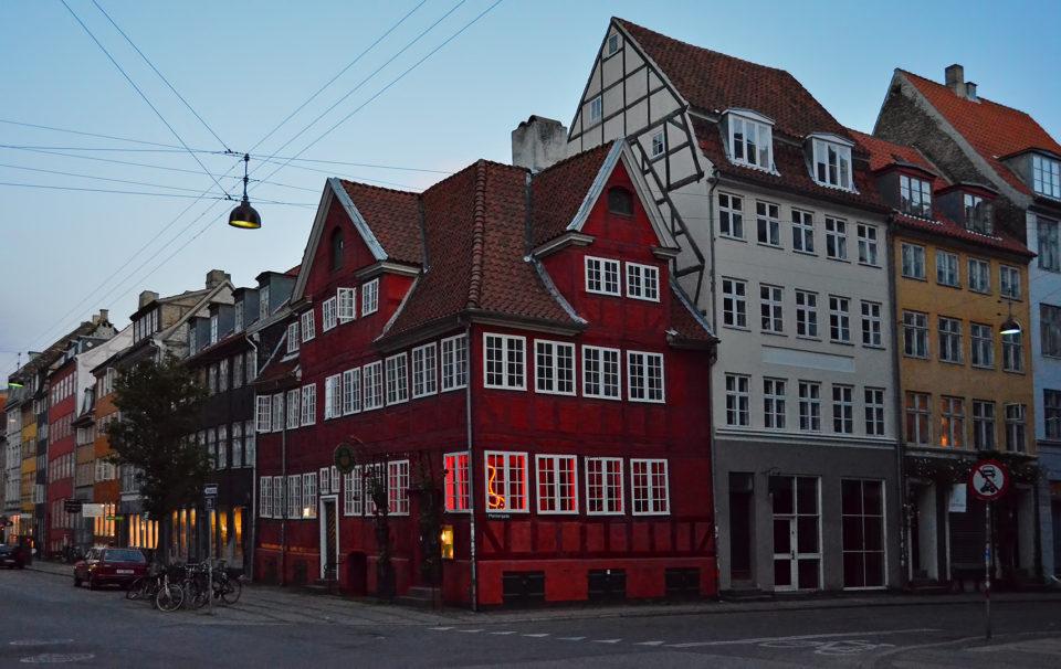 старые дома, копенгаген