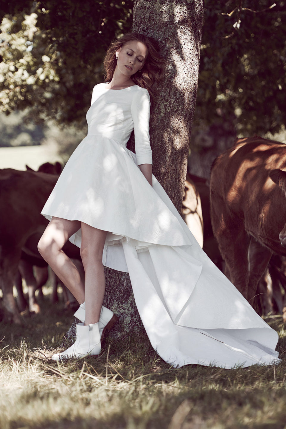 свадебное платье Delphine Manivet