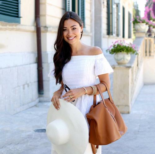 летний гардероб, белое платье, шляпа, white summer dress, brimmed hat