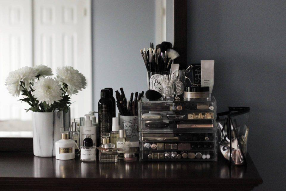 косметика, органайзер для косметки make-up storage, idea by Tamira Jarrel