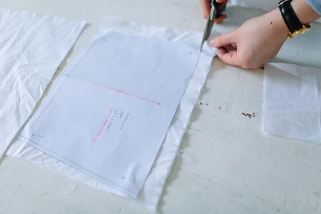 Выкройка. Белая блузка. DIY. своими руками, рукоделие, шитье.