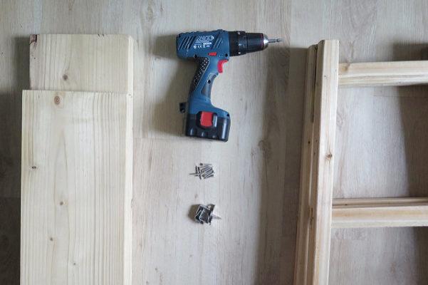 Скандинавский стеллаж своими руками. DIY, мебель своими руками, декор для дома своими руками.