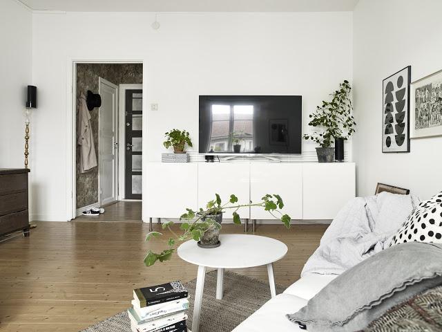 скандинавский интерьер. маленькие квартиры.
