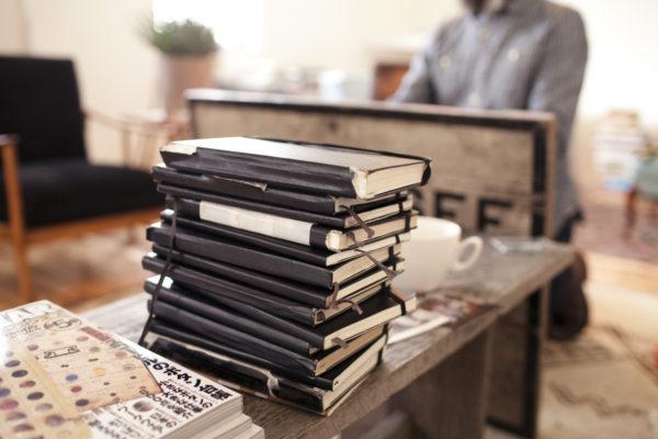 книги, moleskine