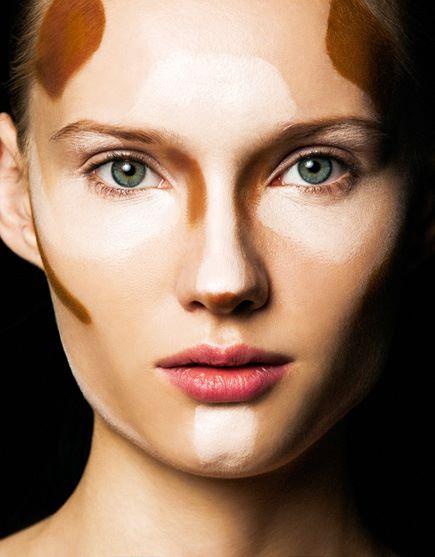 моделирование лица