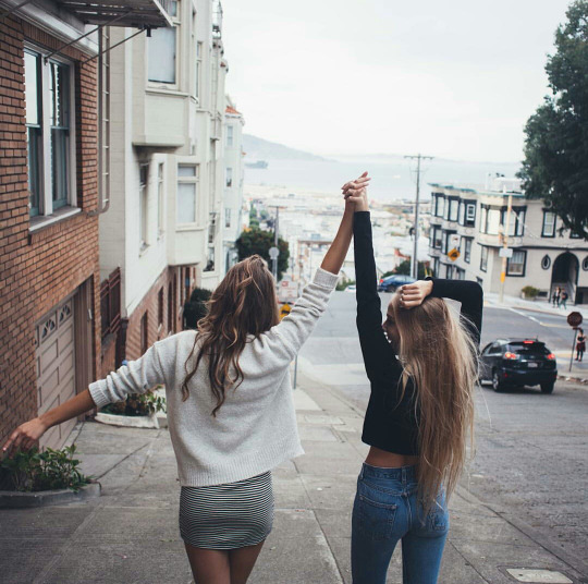 girls, friends, подруги