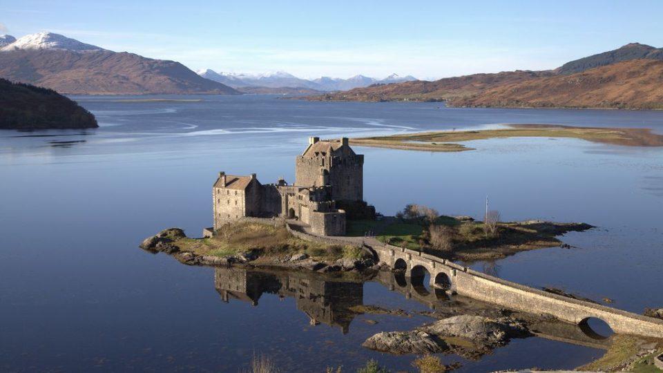 замки в шотландии, EILEAN DONAN CASTLE