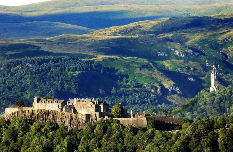 замки в Шотландии, Шотландия, замок, путешествия