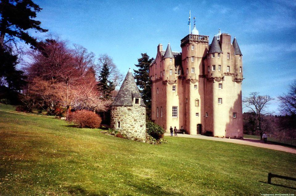 Замки в Шотландии, Шотландия, путешествия, Англия