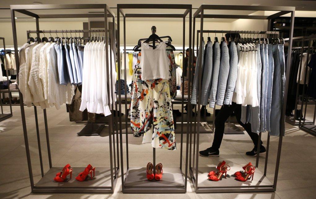 fashion and zara store