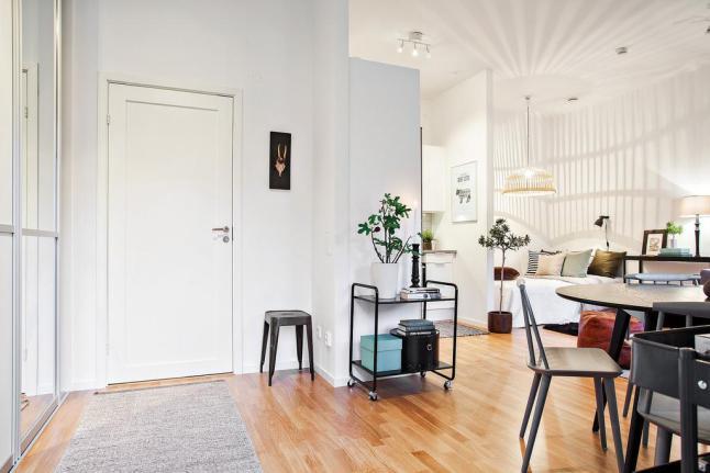 маленькая квартира в Копенгагене, small appartment, interior