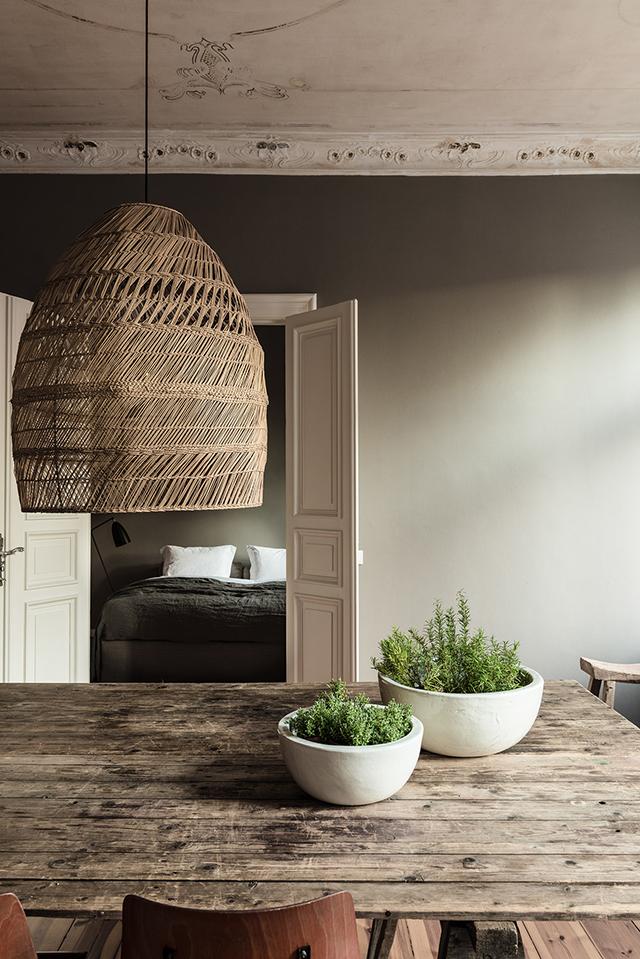 rustic home, деревянный стол, скандинавский дизайн