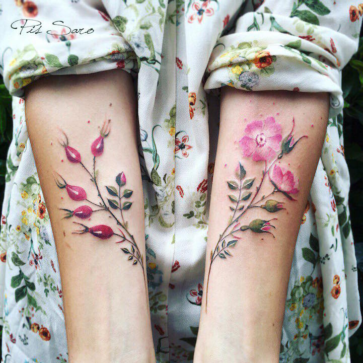 тату, Pis Saro, идеи для татуировок, боатнические тату