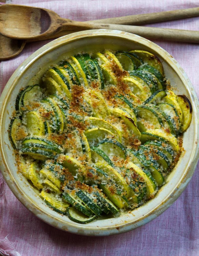 гарнир к грилю, шашлыки, блюда из овощей, запеченные кабачки