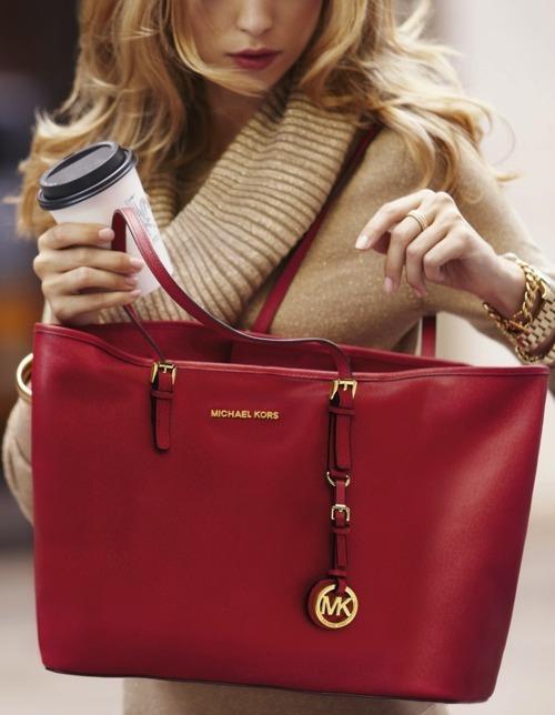 Сумка Michael Kors, красная сумка, red bag
