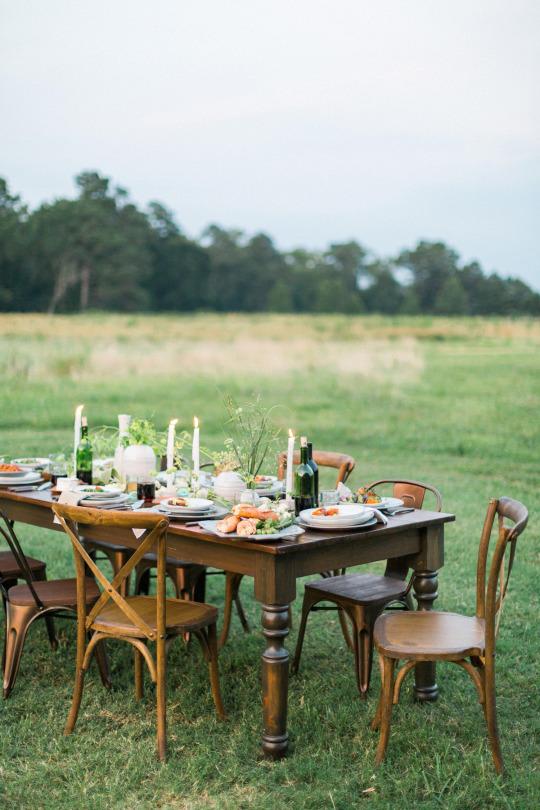 обед на природе, дачные обеды, стол, сервировка стола