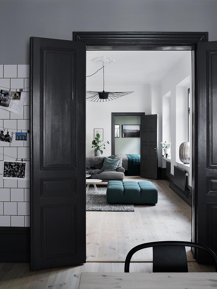 зеленые стены, скандинавский интерьер, декоре интерьера, дизайн, green walls