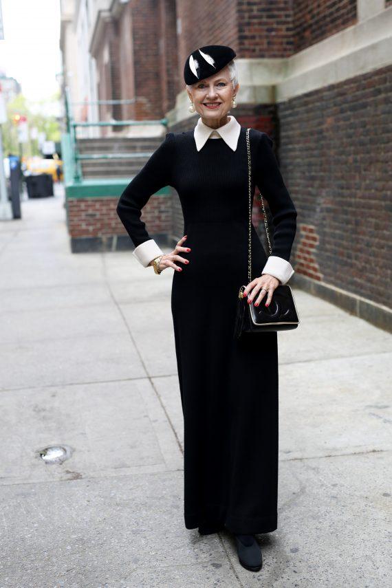 зрелая мода, мода для тех, кому за 70, advanced style