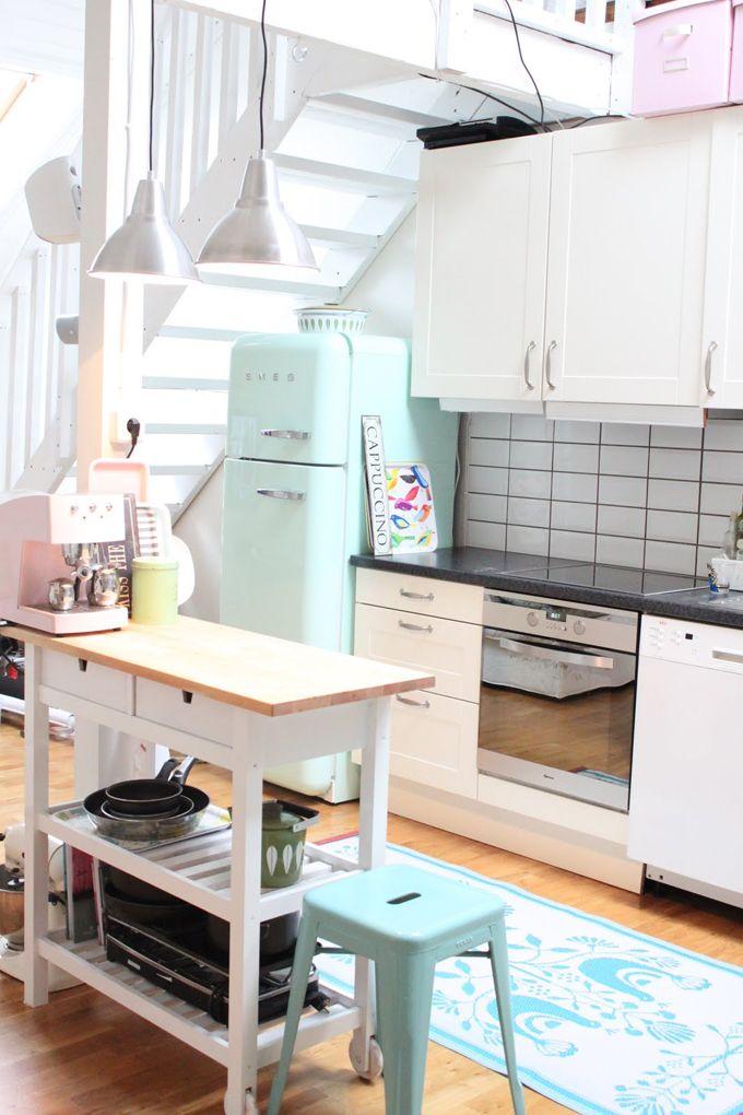 выносной стол, маленькая кухня, дизайн, интерьер