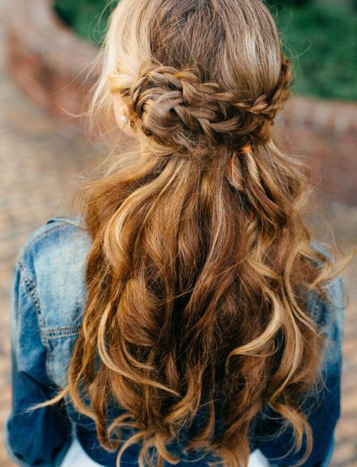 волосы, косы