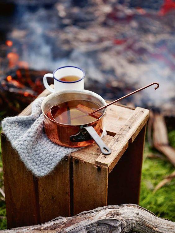 детокс-чай с корицей