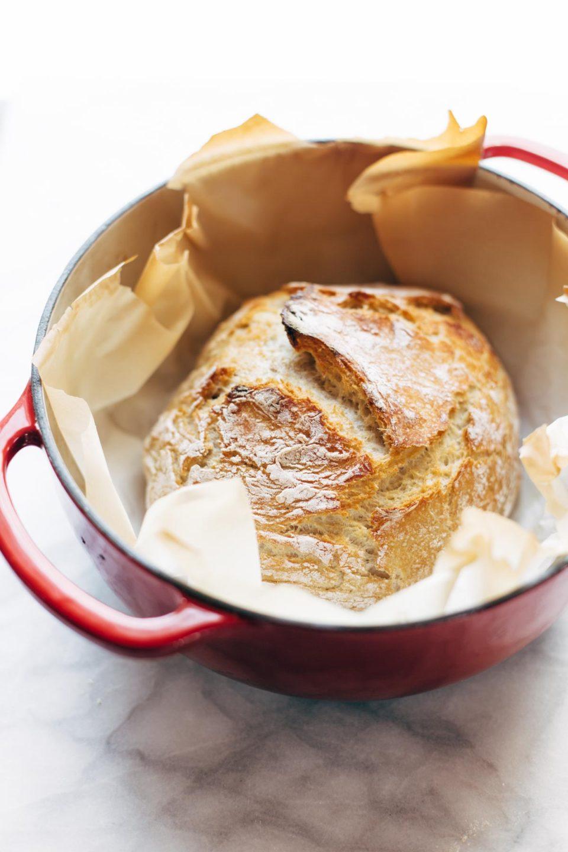 Домашний хлеб, свежий хлеб, простой и быстрый рецепт