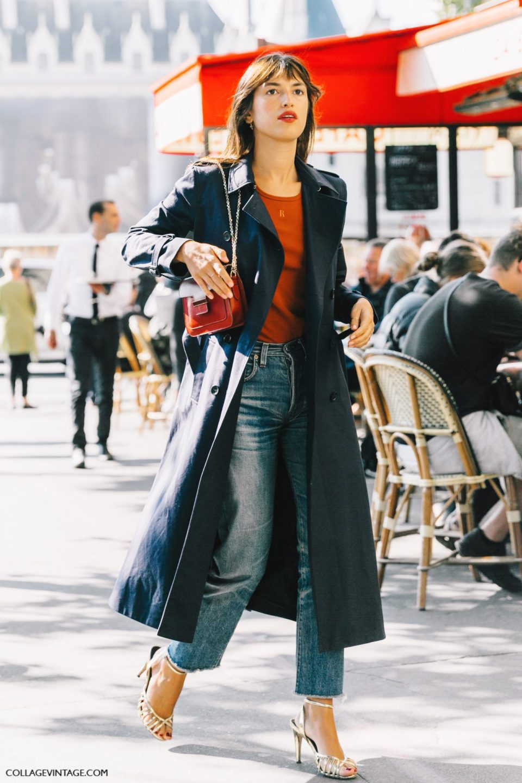 trench coat, parisian chic, тренч, парижский стиль